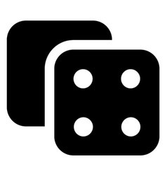Casino dice vector