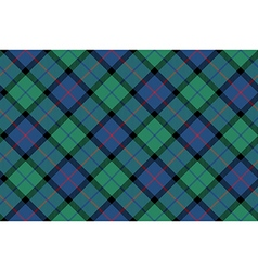 Flower of scotland tartan fabric texture seamless vector