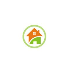 Home icon logo vector