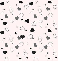 seamless pattern graphic diagonal black small vector image