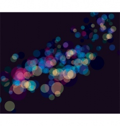 multi color booked lights background vector image vector image