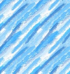 Rough brush blue watercolor vector image