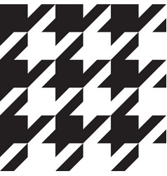 Classical houndstooth pattern big vector