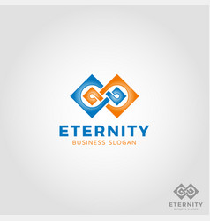Eternity - infinity logo vector
