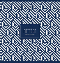 Geometric bold lines pattern background vector