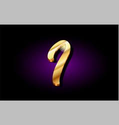 I alphabet letter golden 3d logo icon design vector