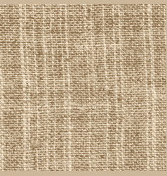 Old linen fabric vector