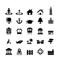 Place Icon vector image