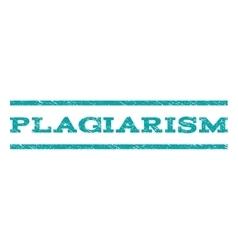 Plagiarism watermark stamp vector