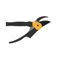 Shears pruning icon garden gardening scissors vector