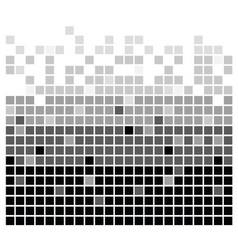 squares texture mono iii vector image