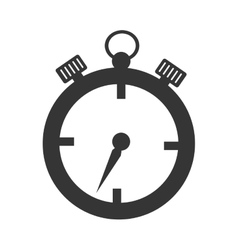 stopwatch sport time isolated vector image