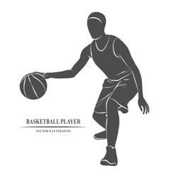 Basketball Player athlete vector image