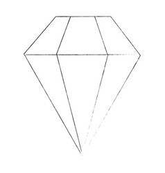 diamond luxury diamond vector image