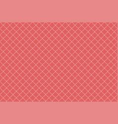 Quatrefoil waves seamless pattern geometric vector