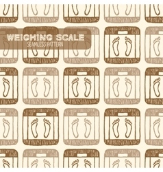 Weighing Scale Vintage vector image vector image