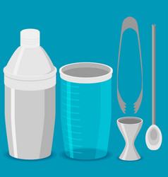 shaker flat design vector image