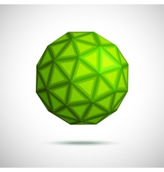 3D of sphere vector image vector image