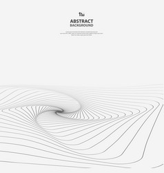 Abstract geometric line of art pattern background vector