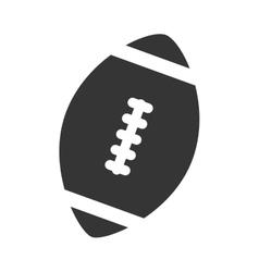 Ball football american isolated vector