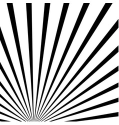 Converging radiating lines abstract background vector