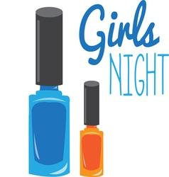 Girls Night vector image