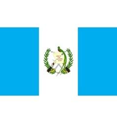Guatemala flag image vector