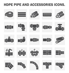 Hdpe pipe vector