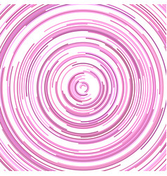 Hypnotic abstract curved stripe background design vector
