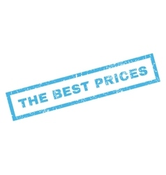 The best prices rubber stamp vector
