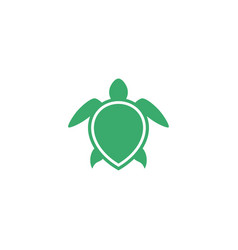 turtle icon design template isolated vector image