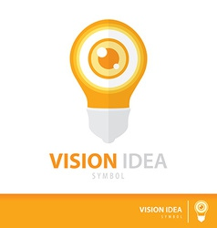 Vision idea vector image