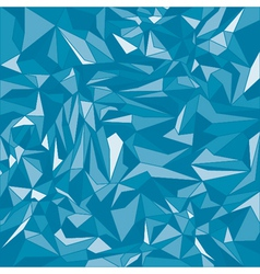 Blue triangle background vector image vector image