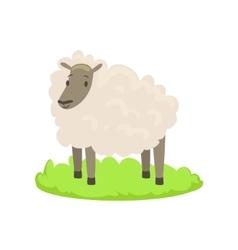 Sheep Farm Animal Cartoon Farm Related Element On vector image vector image