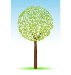 sketchy tree vector image vector image