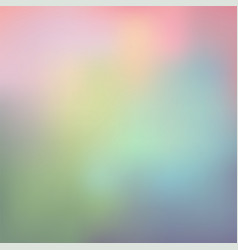 abstract of colorful in pastel combination vector image