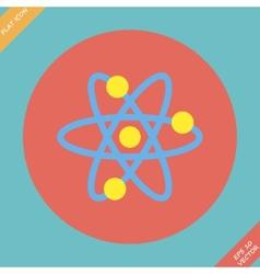 Atomic Symbol Icon vector