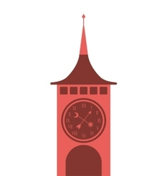 Big ben london building vector