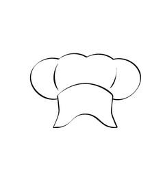 Chef logo vector
