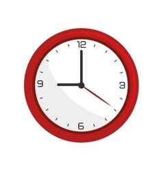 Clock time watch vector