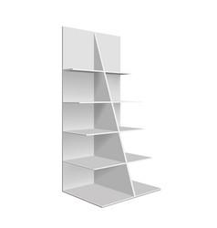 empty showcase vector image
