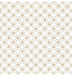 luxury seamless geometric abstract art line vector image