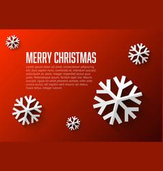 Modern flat design christmas card template vector