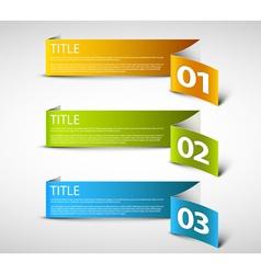 Paper Progress background vector image