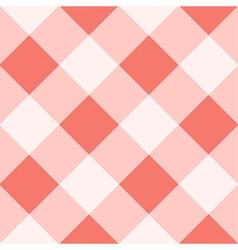 Peach Echo White Diamond Chessboard Background vector