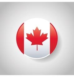 Canada design Culture icon Colorfull vector image