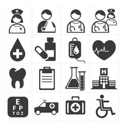 icon medical vector image