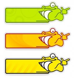 snail sticker vector image