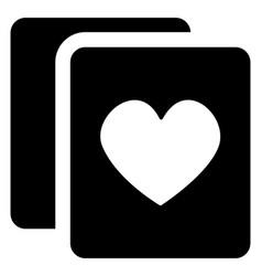 Casino card game vector