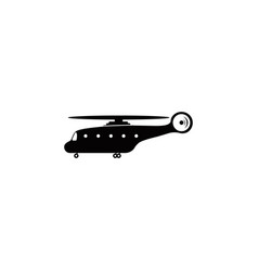 helicopter icon element of popular car icon vector image